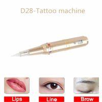 ec6c4a8914939 LED New Korean semi-permanent tattoo machine Bleaching lip line eyeliner beauty  line tattoo machine Small tattoo semi-throwing machine