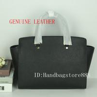 Wholesale hobo bags online - AAA High quality women luxury famous brand handbags Genuine Leather big size selma bags luxury designer female shoulder tote bag purse