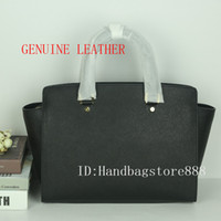 Wholesale hobo bags for sale - High quality women famous brand MICHAEL KALLY handbags Genuine Leather big size selma bags luxury designer female shoulder tote bag purse