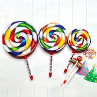 Wholesale baby shape toys for sale - Lollipop Shaped Drum Baby Early Education Percussion Instruments Colorful Children Music Toy inch inch inch Creative New gy D1