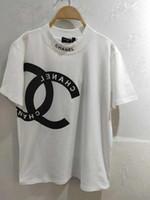 camisas de algodão simples venda por atacado-Outono Tripulação Pescoço de Algodão de Alta Qualidade T Básico-Camisa Das Mulheres Simples Simples T Camisa para As Mulheres de Manga Curta Tops Femininos