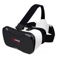 3d lg projektör toptan satış-Orijinal ONLENY 3D Karton Kask Sanal Gerçeklik VR Gözlük 4-6.3 inç Cep Telefonu Için Kulaklık Stereo VR