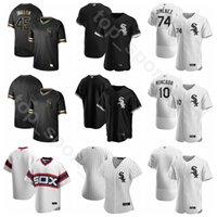 ingrosso paul pierce-2020 Baseball 35 Frank Thomas Jersey 72 Carlton Fisk 56 Mark Buehrle Billy Pierce Paul Konerko Nellie Fox Colore Bianco Nero Uomini Kid