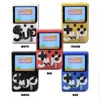 display lcd para tv venda por atacado-SUP Mini Handheld Game Console Sup Além disso portátil Nostalgic Jogo Player 8 Bit 400 em 1 FC Jogos Color Display LCD jogador