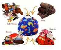 Wholesale bean bag chair for sale - Group buy Interesting Stuffable Animal Toys Storage Bean Bag Comfortable Stuffed Children Plush Toy Organizer Creative Chair for Kids