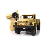 11 rc batterie großhandel-2017 neue l Wplb-1 1/16 2,4g 4wd Rc Crawler Off Road Auto Mit Licht Rtr Spielzeug Geschenk Für Jungen Kinder