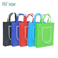 Wholesale bag advertisement resale online - CM reusable shopping bag non woven shopping bag for gift advertisement party supermarket