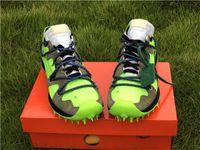 ingrosso vapori in vendita-2019 Sale Bianco X Zoom Terra Kiger 5 Marrone Verde Vapor Via Mens scarpe fuori Sneakers correnti di sport