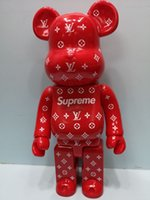 Wholesale toys for boys 2 resale online - HOT CM Bearbrick alphabe tstyle figures Toy For Collectors Be rbrick Art Work model decorations kids gift