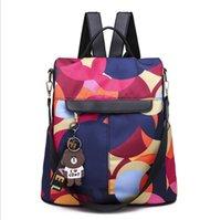 grandes livros venda por atacado-Mochilas para mulheres Tassel Bag Mulheres Oxford Back Pack Teen Girls Big Book Bag