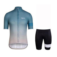 Wholesale short sleeve cycling jersey sale for sale - Group buy RAPHA team Cycling Short Sleeves jersey shorts sets Hot Sale Summer MTB Bicycle Clothing D Gel Pad Sportswear