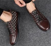 ingrosso appartamenti di oxford-2019 Scarpe da uomo di marca, mocassini da uomo di designPelle piatte in pelle stampata, scarpe casual oxford, mocassini, scarpe firmate g1.85