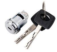 mercedes clave envío gratis al por mayor-1 UNID Car Ignition Lock Cylinder Barrel Lock Core con 2 teclas para Mercedes Benz Anti-Theft Cerradura de puerta de fresado Set Envío Gratis