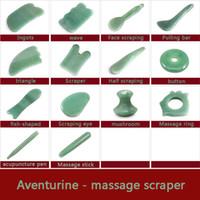 conselhos de saúde venda por atacado-Modern Natural Jade Pedra Guasha Gua Sha Board Forma Quadrada Massagem Massageador Mão Relaxamento Cuidados de Saúde Ferramenta de Beleza R0071