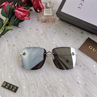 ingrosso occhiali da sole marque-Occhiali da sole aviazione Retrò Classici Occhiali da sole ModelloFframe Lenti Pacchetti originali Design Lunettes De Soleil Homme Luxe Marque With Box