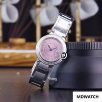 Wholesale small tags for sale - Group buy Hot sale top quality fashion women s watch small pink mm dial diamonds case stainless steel ladies watches quartz watch