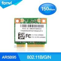 ingrosso schede wireless atheros-scheda wireless Atheros 9285 AR5B95 AR9285 802.11B // N 150 Mbps WiFi Mini Mini PCI-E Wlan Wireless Card per IBM 380 385 Z580 Z585 G555 G560