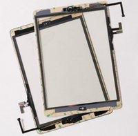 ipad luft touchscreen glas digitizer großhandel-10 teile / los Durch DHL Für iPad Air 1 (ipad 5) Touchscreen Digitizer Top Äußere Glasscheibe Repait Teile