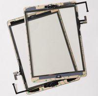 ipad hava cam dokunmatik ekran toptan satış-İPad Hava 1 Için DHL Tarafından 10 adet / grup (ipad 5) Dokunmatik Ekran Digitizer Üst Dış Cam Panel Repait Parçaları