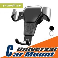Wholesale car cell phone holder online – Gravity Car Holder for Phone In Car Air Vent Clip Mount No Magnetic Mobile Phone Holder Cell Stand Support for Smartphones