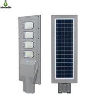 controles remotos venda por atacado-120W 150W Solar Poste PIR Motion Sensor LED Estrada Luz Waterproof IP65 Iluminação exterior com o Pólo Remote Control