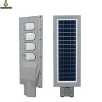 Wholesale remote control pir for sale - Group buy 120W W Solar Street Light PIR Motion Sensor LED Road Light Waterproof IP65 Outdoor Lighting with Pole Remote Control