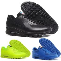 4cc3c8316eb Nike air max airmax 90 HYP PRM QS 2018 HY PRM QS 90 Hommes Femmes Chaussures  De Course 90 HyperS fusent Drapeau Américain Noir Blanc Marine Or Argent  Sport ...