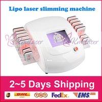 ingrosso diodo lipo laser 14 pad-14 paddle per laser 10 pad grandi e 4 pad piccoli I perdita di peso laser lipo dimagrante macchina laser a diodo 650nm diodi per uso domestico salone