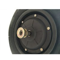 Wholesale 48v car resale online - 10 Inch Widen Citycoco V V W Hub Motor Wheel Electric Car Wheel Adult Fat Tyre Wheel