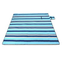 Wholesale large outdoor beach mat for sale - Group buy 200x200Cm Waterproof Folding Picnic Blanket Outdoor Beach Mat Beach Blanket Sand Proof Extra Large Portable Hiking