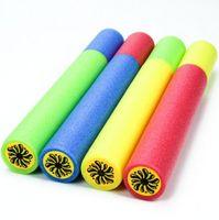 pumpe spielen großhandel-5 * 35 cm Bunte Kinder Wasserpistole Serie Sandstrand Spielzeug Pull Typ EVA Schaum Gezeichnet Wasserpistole Strand Spielen Pumpe Spielzeug Sand Spielen