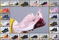 erkek yürüme toptan satış-Yeni Atletik 270 3.0 Eğitmenler Erkekler Hava Buhar Sneakers Erkek Spor 270S Walking BE Siyah Beyaz 27c Max 2018 Kadınlar Koşu Ayakkabıları