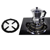 ingrosso stufa a-Stoviglie Parts Moka Pot Stove stand Coffee Pot Holder Gas Gamma Support Ring Burner griglia piano cottura a gas Rack Camping Pentole Utensili da cucina Accessori