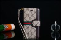 bandoulière note achat en gros de-Pour Samsung S10e Galaxy S10 + Note 8 9 Series Etui portefeuille en cuir durable avec support avec bandoulière et portefeuille pour Iphone 8 XS XR X Case