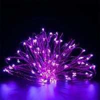 Wholesale warm fairy light silver resale online - 2M leds Silver Wire Fairy Garland Lamp LED String Lights Christmas Wedding Home Party Decoration Powered By CR2032 Battery