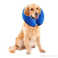 Wholesale Inflatable Pet Collar Health Dog Cat Vet Approved Elizabethan Wound Healing E Collar Protection Medical Cone Collar S L