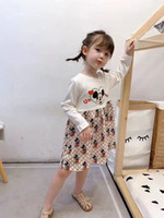 Wholesale floral baby clothing for sale - Group buy new Girls Dress Summer short Sleeve Clothing Kids Baby Princess Dresses Children Clothes kids dress children clothing