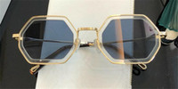 Wholesale types sunglasses for sale - Group buy New fashion popular sunglasses irregular frame with special design lens legs wearing woman favorite type top quality s