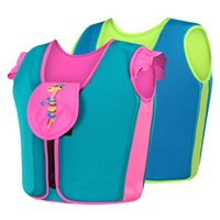 Wholesale swimming jackets for kids for sale - Group buy Sbart Kids Life Vest Neoprene Jacket for Children Below Years Old Safety Water Sports Swimming Suit Toddler Boys Girls