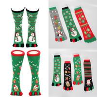 ingrosso calze di lusso di natale-Calze da stampa classiche Babbo Natale Buon Natale Favore Simpatico pupazzo di neve Designer calze di lusso per uomo e donna 6 8rh Ww