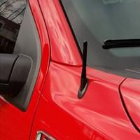 ingrosso gps della porcellana dvd-Top Brand Hight Quality antipioggia auto Accessori NERO ALLUMINIO albero di antenna - Adatto a: 2009-2019 Per Dodge Truck 1500 GPS