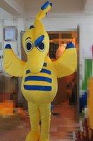 desenhos animados do hipocampo venda por atacado-2019 hot new EVA Material hipocampo Trajes Da Mascote Dos Desenhos Animados Vestuário Festa de Aniversário Masquerade