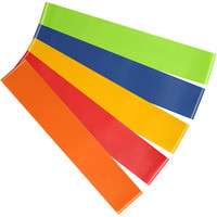 Resistance Bands Natural Latex Tension Fitness Elastic Yoga Training Resistance Band Contains 5 Different Tension Band