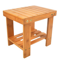 подставка из цветного дерева оптовых-Дети скамейка стул бамбук дерево цвет работает как подставка для хранения Дети шаг стул или взрослый стул для рыбалки стирки одежды