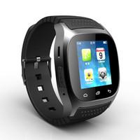 женщины смотрят музыку оптовых-Bluetooth Смарт часы Стильный Женщины Мужчины Мужская Электронные часы С помощью Call Music шагомер для Android горячей