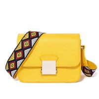 ingrosso borsa messaggero due cinghie-Borse a tracolla in pelle di marca di moda borse a tracolla in pelle con due cinturini da ricamo di alta qualità vendita calda borse crossbody Y19052801