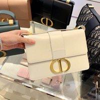 blumendruckhandtaschen geldbörsen großhandel-Designer-Taschen MONTAIGNE Tote Frauen Luxus Leder Schultertasche Geldbörse Blumendruck Handtaschen Frauen Umhängetaschen