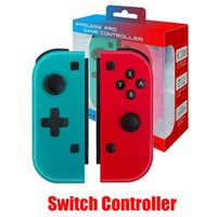 Wholesale Wireless Bluetooth Pro Remote Gamepad Controller For Switch Joypad Joystick Handle Joy Con Right and Right Handle Console