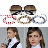 Wholesale neck cord glasses holder resale online - Fashion Design Women Fanciest Sunglasses Lanyards Reading Glasses Cord Holder Neck Strap Rope Glass Beads Eyeglass Chains G123