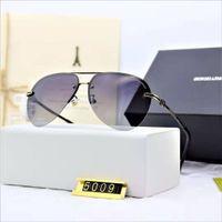 marca óculos de sol venda por atacado-Designer de moda de alta qualidade óculos de sol de metal quadrado retro homens proteção ao ar livre uv400 óculos lunettes de soleil homme luxe marque
